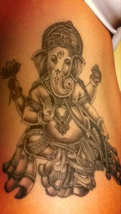My Ganesh Tattoo
