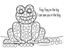 26 Free Printable Dot Marker Templates Coloring Pages