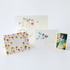 Free Printable Watercolor Mother's Day Cards