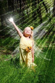 little girls, magic, faeri, dream, children