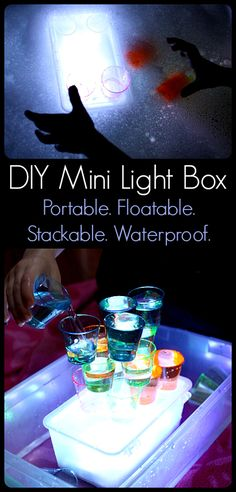 DIY Mini Light Box: Portable, Floatable, Stackable, Waterproof from Play Trains