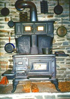 love these old wood burning stoves