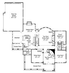 Southern Living Shook Hill House And Floor Plans Pinterest