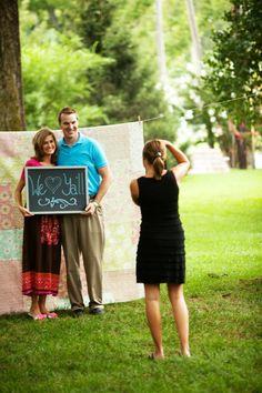 guest photos - cute idea