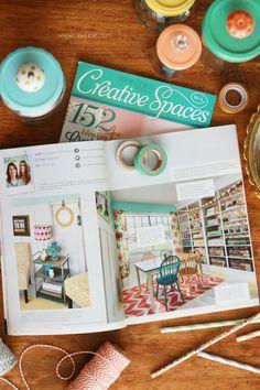 Creative Spaces Vol. 3 magazine featuring @LollyJaneBlog, whoop!   #creativespacesvol3