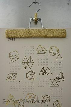 DIY Glitter Hanger