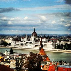 Enjoy a cup of mulled wine before you stop to shop for gifts in Budapest's Christmas markets. These are the best holiday cruise vacations.    Photo courtesy of the Danube River by @ ozge_colak via Instagram