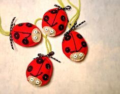 Ladybugs Ornaments