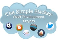 All the materials you need to motivate your staff to attend staff development. Teachers LOVE stickers! (Printables included)