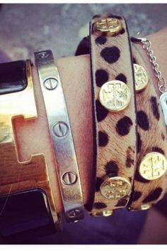 Hermes, Cartier and Tory Burch. Such a label whore
