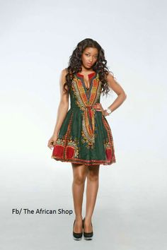 Dashiki boom  Dress by THEAFRICANSHOP on Etsy, £50.00