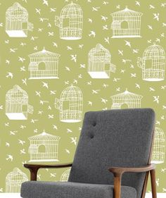 Mini Moderns and Rob Ryan wallpaper.