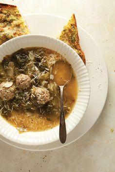 SAVEUR: Easy Italian: Escarole Soup   SAVEUR