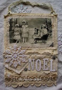 Winter collage...image from Paper Whimsy