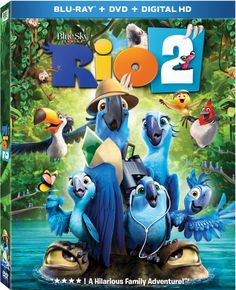 Rio 2 Blu-ray Giveaway & Activity Sheets - Yee Wittle Things
