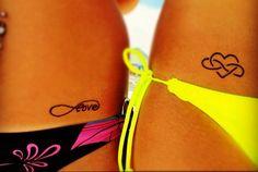 Perfect best friend tattoos