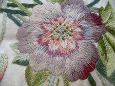 crewel type embroidery