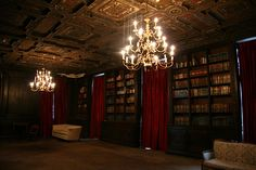 Glam Goth Library..love it