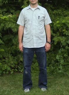 shirt AND jeans - plus tips for sewing professional-looking men's clothes