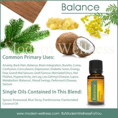 Common Uses for doTERRA's Balance Essential Oil Blend. This is perhaps my favorite oil. It is absolutely grounding.  mydoterra.com/amandazimmerman thisdoterralife@gmail.com  #doterra #essentialoils