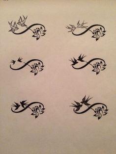 Tatouage Symbole Amour Tatouages Temporaires Infinite Love Tattoo