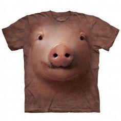 Camiseta Cerdo Rosa