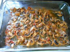 Low Carb Baked Mushrooms with Bacon