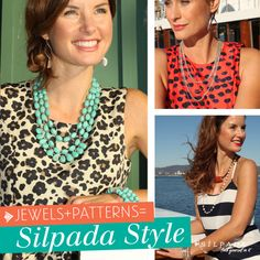 Jewels + Patterns = #SilpadaStyle! | #WomensFashion #jewelry