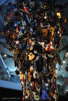guitars galore  -Seattle EMP
