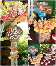 Spongebob Birthday Party with Lots of Really Fun Ideas via Kara's Party Ideas Shop | Kara'sPartyIdeas.com #SpongebobSquarePants #GenderNeutral #Party #Ideas #Supplies (1)
