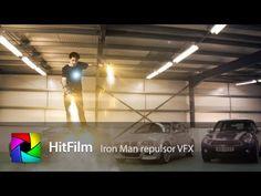 Iron Man Repulsors VFX tutorial