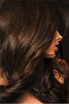 La Dolce Vita: Glamour Obsession: Brunette for Fall hair color