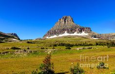 Logan Pass: See more images at http://robert-bales.artistwebsites.com/
