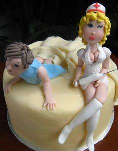 Naughty Nurse Cake