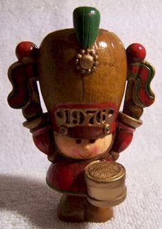 1976 Hallmark Tree Trimmer Yesteryears Drummer Boy Ornament. $34.95, via Etsy.
