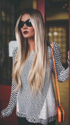 long hair!