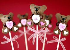 Valentine's Day Cake Pops by Bakerella