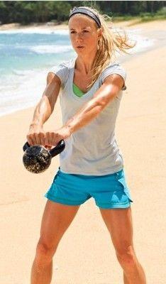 kettlebells on the beach? #yesplease