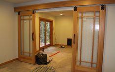 ideas for interior doors | Sliding Interior Barn Doors | Interior Designs Ideas