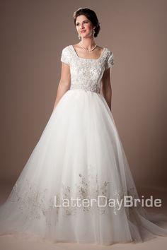 Modest Wedding Dress,
