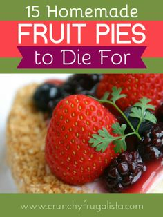 15 Delish Fruit Pies!