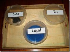 Solid, Liquid, Gas!