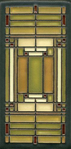 Tile - 'Prairie style' FLW
