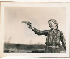 Girl and a 1911