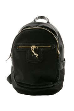 Black Mini Lola Backpack