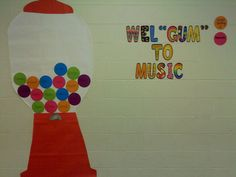 I used this this past year as a whole class rewards system.  On the board, I had the letters M-U-S-I-C spelled out on gumballs.  If the students kept all of the gumballs, then they would receive a sticker on their teacher's gumball.  The class with the most stickers won a pizza party at the end of the year.