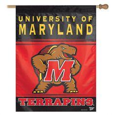 Maryland Terrapins Flag