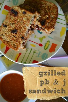Grilled peanut butter and jelly! Oh. My. Goodness! Why haven't I thought of this?? The classic PB & J is my most favorite thing to eat (I say sheepishly!) I can't wait to try this!
