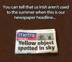 Irish Summer…
