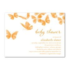 Really beautiful invite with the butterflies.